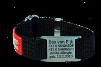 RVS sos armband